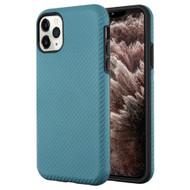 Carbon Fiber Hybrid Case for iPhone 11 Pro Max - Ink Blue