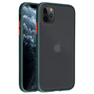 Frost Semi Transparent Hybrid Case for iPhone 11 Pro - Midnight Green