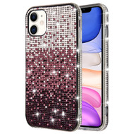 Sparks Mini Crystal Case for iPhone 11 - Gradient Purple