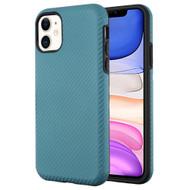 Carbon Fiber Hybrid Case for iPhone 11 - Ink Blue