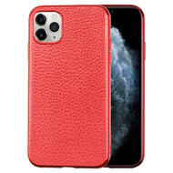 Executive Slim Shield Leather Fusion Case for iPhone 11 Pro - Red