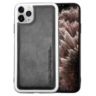 High Pro Shield Leather Fusion Case for iPhone 11 Pro Max - Black