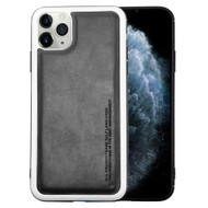 High Pro Shield Leather Fusion Case for iPhone 11 Pro - Black