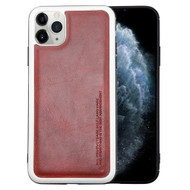 High Pro Shield Leather Fusion Case for iPhone 11 Pro - Burgundy