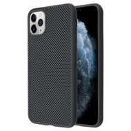 Perforated Ultra Slim Protective TPE Case for iPhone 11 Pro - Black