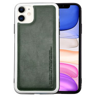 High Pro Shield Leather Fusion Case for iPhone 11 - Dark Grey