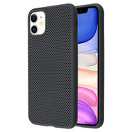 Perforated Ultra Slim Protective TPE Case for iPhone 11 - Black