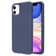 Perforated Ultra Slim Protective TPE Case for iPhone 11 - Navy Blue