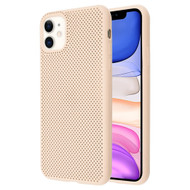 Perforated Ultra Slim Protective TPE Case for iPhone 11 - Melon Pink