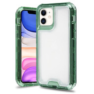 Atomic Tough Hybrid Case for iPhone 11 - Green