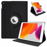 360 Degree Smart Rotating Leather Hybrid Case for iPad 10.2 inch (7th Generation) - Black