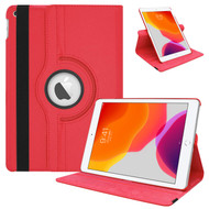 360 Degree Smart Rotating Leather Hybrid Case for iPad 10.2 inch (7th Generation) - Red