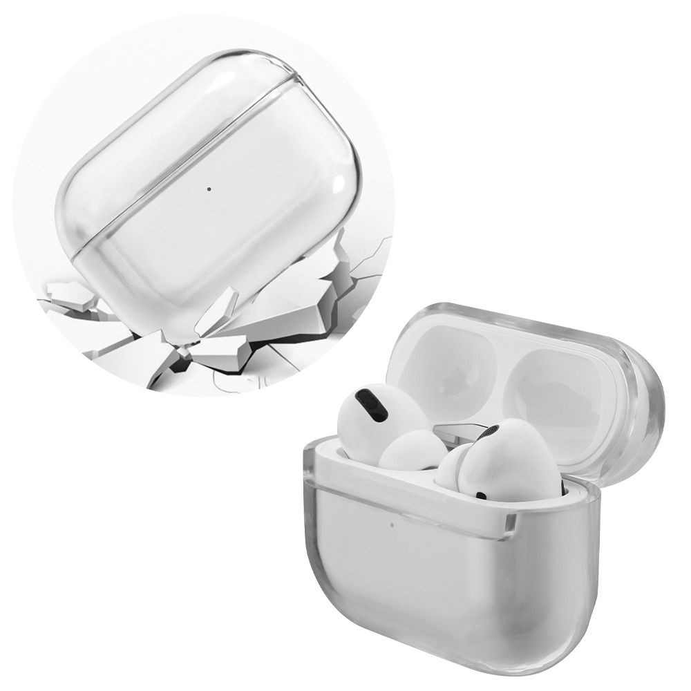 Crystal Clarity Protective Case For Apple Airpods Pro Clear Hd Accessory