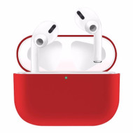 Ultra Thin Silicone Protective Case for Apple AirPods Pro - Red