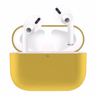 Ultra Thin Silicone Protective Case for Apple AirPods Pro - Yellow