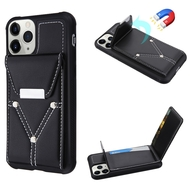 Cartera Wallet Case for iPhone 11 Pro Max - Black