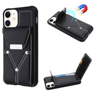 Cartera Wallet Case for iPhone 11 - Black