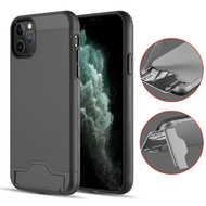 *Sale* KardCase Hybrid Case with Card Compartment and Kickstand for iPhone 11 Pro - Black