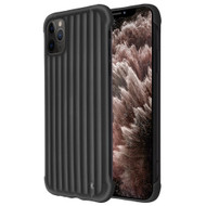 Suitcase Slim Frosty Semi Transparent Fusion Case for iPhone 11 Pro Max - Black