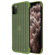 Suitcase Slim Frosty Semi Transparent Fusion Case for iPhone 11 Pro Max - Midnight Green