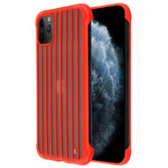 *Sale* Suitcase Slim Frosty Semi Transparent Fusion Case for iPhone 11 Pro - Red