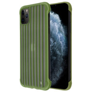 *Sale* Suitcase Slim Frosty Semi Transparent Fusion Case for iPhone 11 Pro - Midnight Green