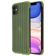*Sale* Suitcase Slim Frosty Semi Transparent Fusion Case for iPhone 11 - Midnight Green