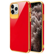 Gloss Flexi Shield Gel Case for iPhone 11 Pro Max - Red