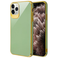 Gloss Flexi Shield Gel Case for iPhone 11 Pro Max - Jade Green