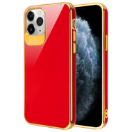 Gloss Flexi Shield Gel Case for iPhone 11 Pro - Red