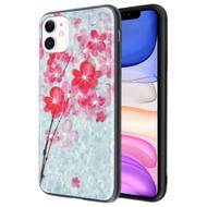 Pure Brilliance Diamond Fusion Case for iPhone 11 - Plum Blossom