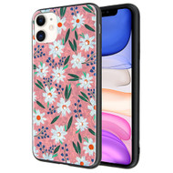 Pure Brilliance Diamond Fusion Case for iPhone 11 - White Daisies