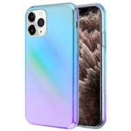 Iridescent Color Holographic Effect Fusion Case for iPhone 11 Pro Max