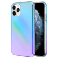 Iridescent Color Holographic Effect Fusion Case for iPhone 11 Pro