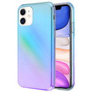Iridescent Color Holographic Effect Fusion Case for iPhone 11