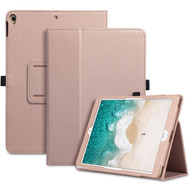 Leather Portfolio Smart Case for iPad Air 3 / iPad Pro 10.5 inch - Rose Gold
