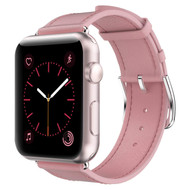 *Sale* Genuine Leather Strap Band for Apple Watch 44mm / 42mm - Pink