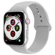 Sport Silicone Band Watch Strap for Apple Watch 44mm / 42mm - Grey