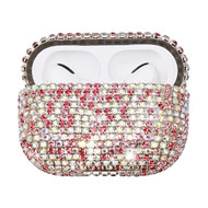 Diamond Encrusted Protective Case for Apple AirPods Pro - Pink