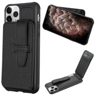 *Sale* Buckle Loop Wallet Case for iPhone 11 Pro Max - Black
