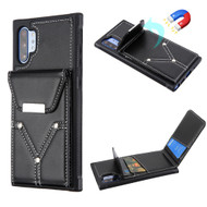 Cartera Wallet Case for Samsung Galaxy Note 10 Plus - Black