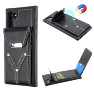 Cartera Wallet Case for Samsung Galaxy Note 10 - Black