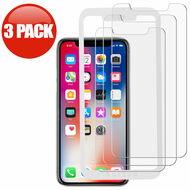 3-Pack HD Premium Tempered Glass Screen Protector with Installation Frame for iPhone 11 Pro / iPhone XS / iPhone X