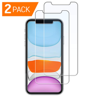 2-Pack HD Premium 2.5D Round Edge Tempered Glass Screen Protector for iPhone 11 / iPhone XR