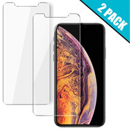 2-Pack HD Premium 2.5D Round Edge Tempered Glass Screen Protector for iPhone 11 Pro Max / iPhone XS Max