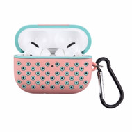 *Sale* Perforated Silicone Protective Case for Apple AirPods Pro - Pink Baby Blue