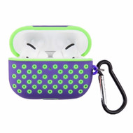 *Sale* Perforated Silicone Protective Case for Apple AirPods Pro - Purple Green