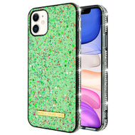 *Sale* Stardust Sparkle Case for iPhone 11 - Green