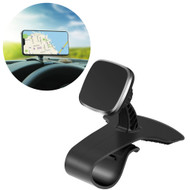 Car Dashboard Clip Magnetic Phone Mount - Black