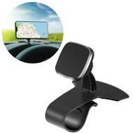 Car Dashboard Clip Magnetic Phone Mount - Black